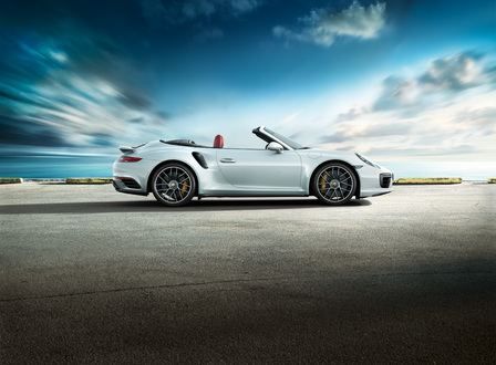 911 Turbo S Cabriolet.